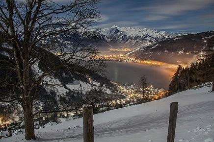 Uitzicht Zell am See Oostenrijk