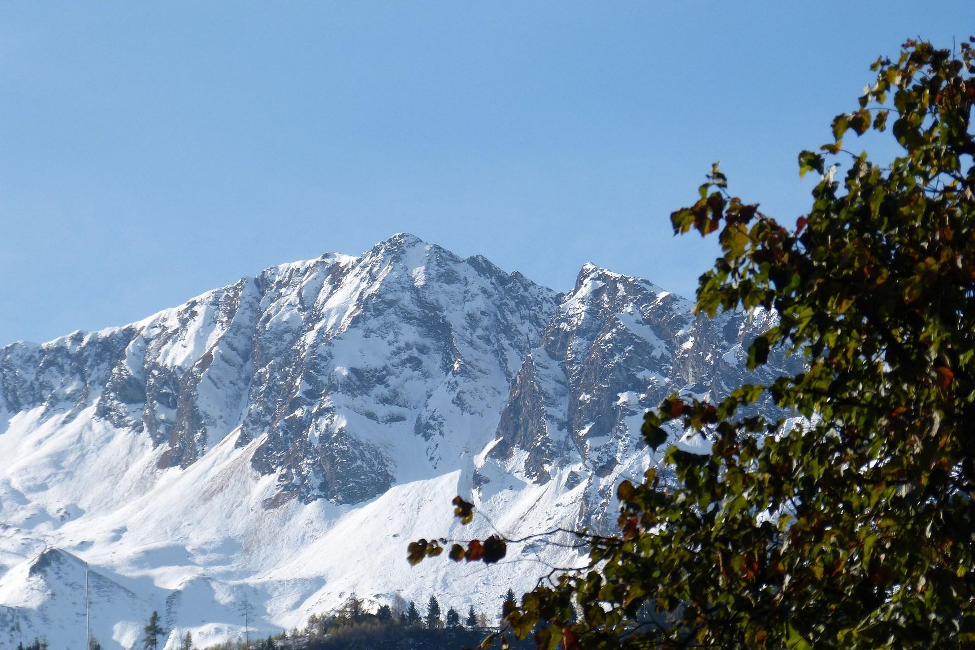 Zolferkogel Saalbach Hinterglemm Oostenrijk sneeuw