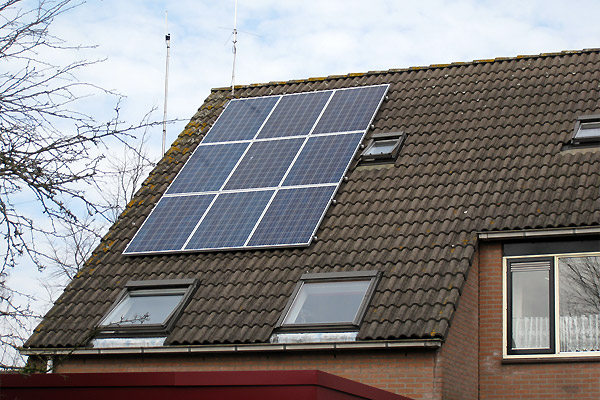 Zonnepanelen Hoogland
