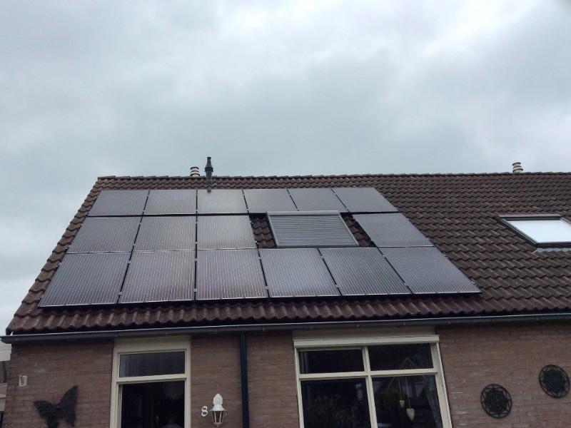 Zonnepanelen Klant Nieuw-Amsterdam