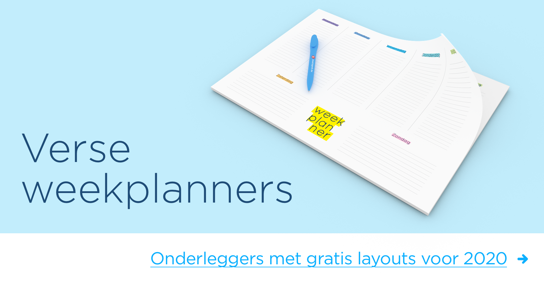 Weekplanner-slider